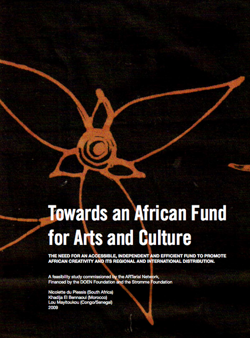 African funds for the arts and culture feasability study